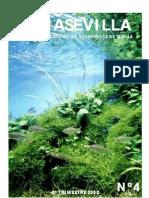 Boletín Asociación Acuariófila Sevillana - Acuasevilla No 04