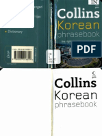 Collins Korean Phrasebook