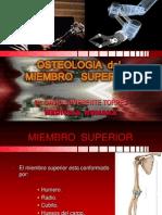 2Bº CLASE Osteologia MIEMBRO SUPERIOR