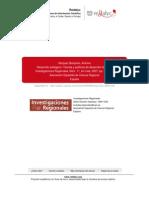 Vazquez Barquero (2007) Desarrollo Endogeno, Teorias y Politicas de Desarrollo Territorial