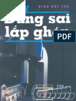 10. Sổ Tay Dung Sai Lắp Ghép - Ninh Đức Tốn, 312 Trang