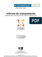 OPP MBTI Step II Interpretive Report Spanish[1]