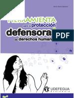 Herramientas para la protección de defensoras de derechos humanos