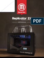 MakerBot Replicator 2X User Manual