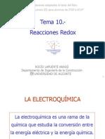 Tema 10.- Reacciones Redox 2007-2008