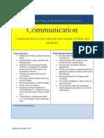 core academic value communication november 2012