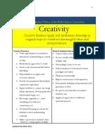 core educational value creativity november 2012