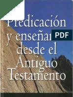 Predicacion y Ensenanza Desde El Antiguo Testamento Walter C Kaiser Jr