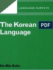 The Korean Language (Cambridge Language Surveys)
