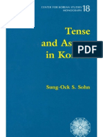 Tense and Aspect in Korean
