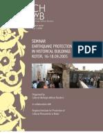 Seminar Earthquake Protection of Historical Buildings
