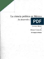 18 La Ciencia Politica en Mexico
