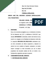 APELACION DE SENTENCIA SALIRROSAS - NUREÑA