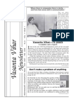Vasanta Vihar Newsletter -07-Nov--Feb2008