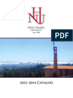 Holy Names University 2013-14 Course Catalog