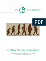 30 Day Paleo Challenge Packet