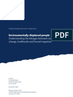 Oxford Environmentally Displaced People