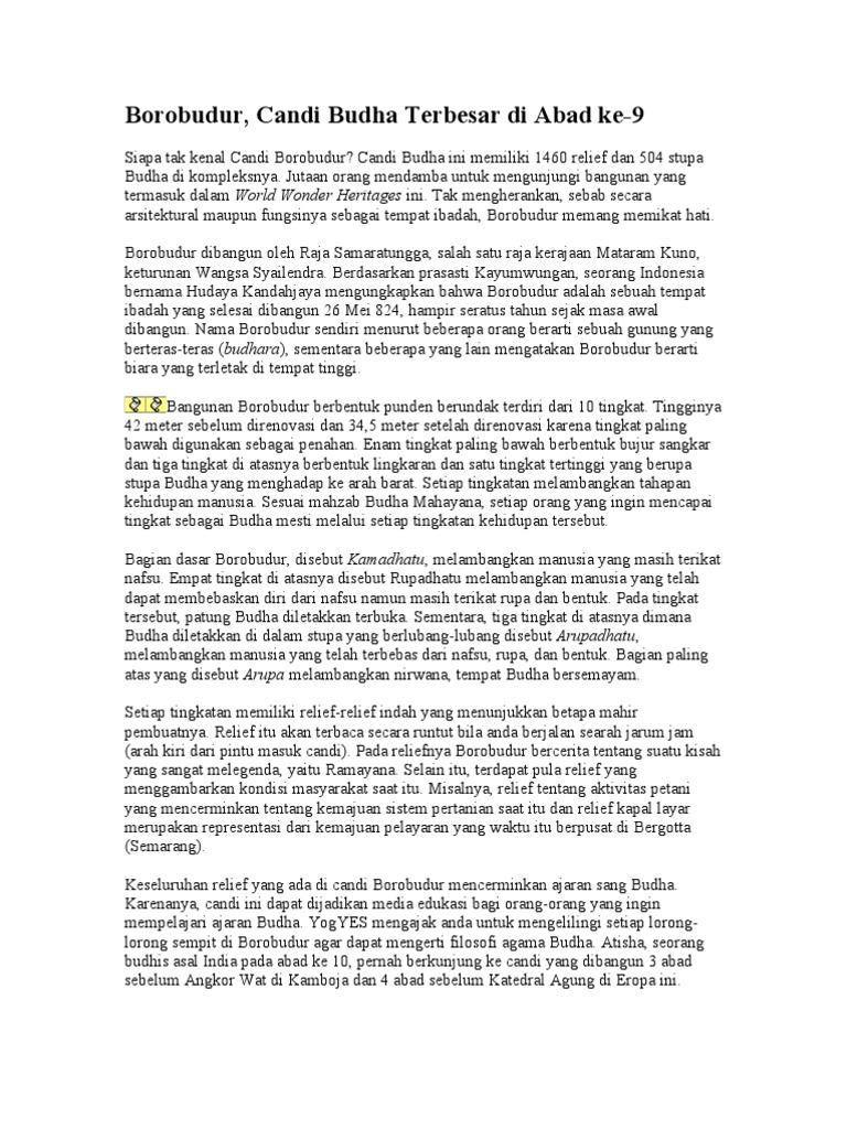 Borobudur Artikel
