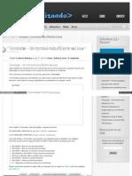 Terminator – Um terminal mais eficiente no Linux