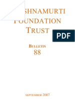 Krishnamurti Foundation Trust (Bulletin 88_sept07)