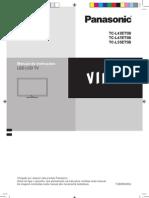 Manual Smart Tv Viera Tc-l42 47 55et5b Panasonic