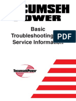 Tecumseh Basic Troubleshooting & Service Information