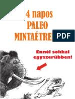 PALEO 14 Napos Mintaetrend eBook