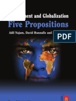 Najam, Adil, David Runnalls & Mark Halle 2007 'Environment and Globalization-- Five Propositions' (IISD) International Institute for Sustainable Development (48 Pp.)