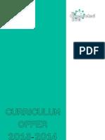 Hub Curriculum Offer