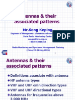 Antennas & Their Associated Patterns