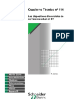 CT114 Los Dispositivos Diferenciales de Corriente Residual e
