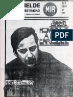 El Rebelde 214 Octubre 1984