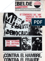 El Rebelde 252 Mayo 1988
