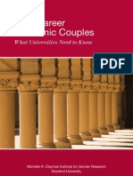 Dual-Career Academic Couples