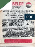 El Rebelde 257 Junio 1989