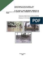 Análise do uso do solo e dos recursos hídricos na microbacia do igarapé apeú, nordeste do estado do pará