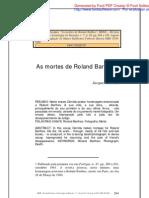 A Morte de Barthes - Por Jacques DerridaDoc