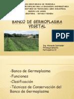 Microclase Banco de Germoplasma Vegetal