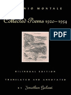 Eugenio Montale-Collected Poems, 1920-1954 Revised Bilingual
