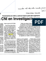 CNI en Investigaciones - Nelson Lillo, mando del Covema - Diario El Siglo