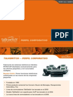 Talk Switch Corporation Presentation I