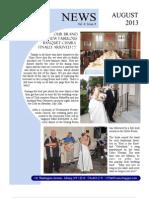 August 2013 UC Newsletter