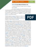 HISTORIA Y EVOLUCIÓN DEL DERECHO PROCESAL CIVIL1