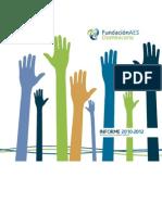 Informe Fundación 2010-2012