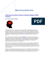 Decision Making_Heart or Head