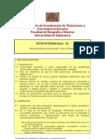 Nota Interna nº 10 Memoria para la solicitud de títulos ofic