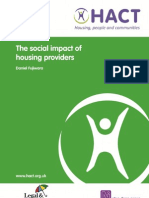 The Social Impact of Housing Providers Report2013
