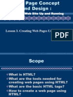 HTML Activities