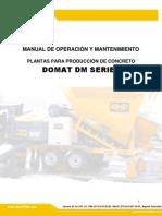 Manual Operacion y Mtto Dm Series 3.6