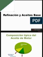 COMPOSICIÓN ACEITES (ACEITE BASE) CANTERA